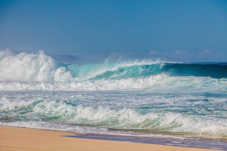 Картинки на рабочий стол море волны пляж