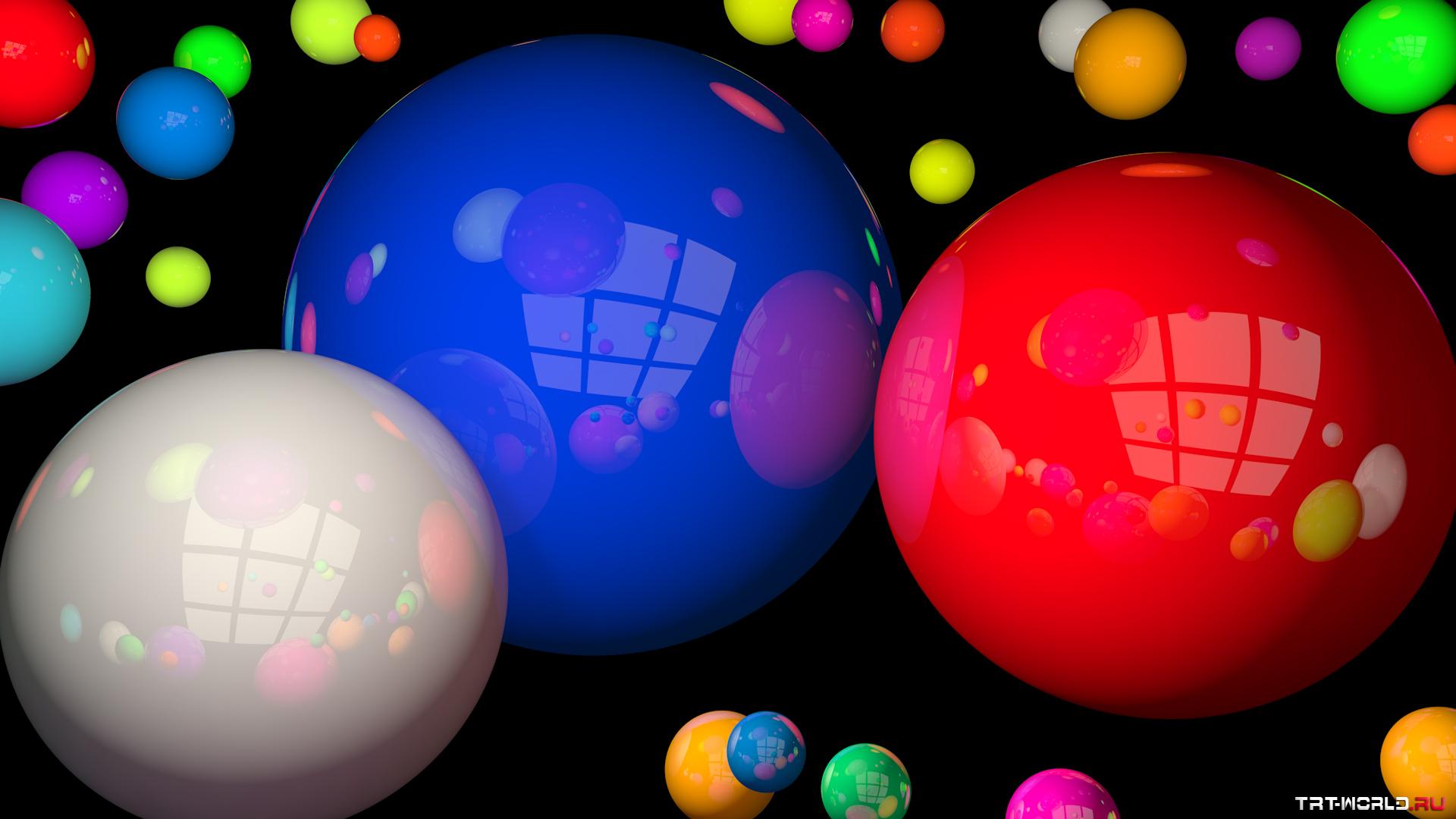 Картинка шары на рабочий стол