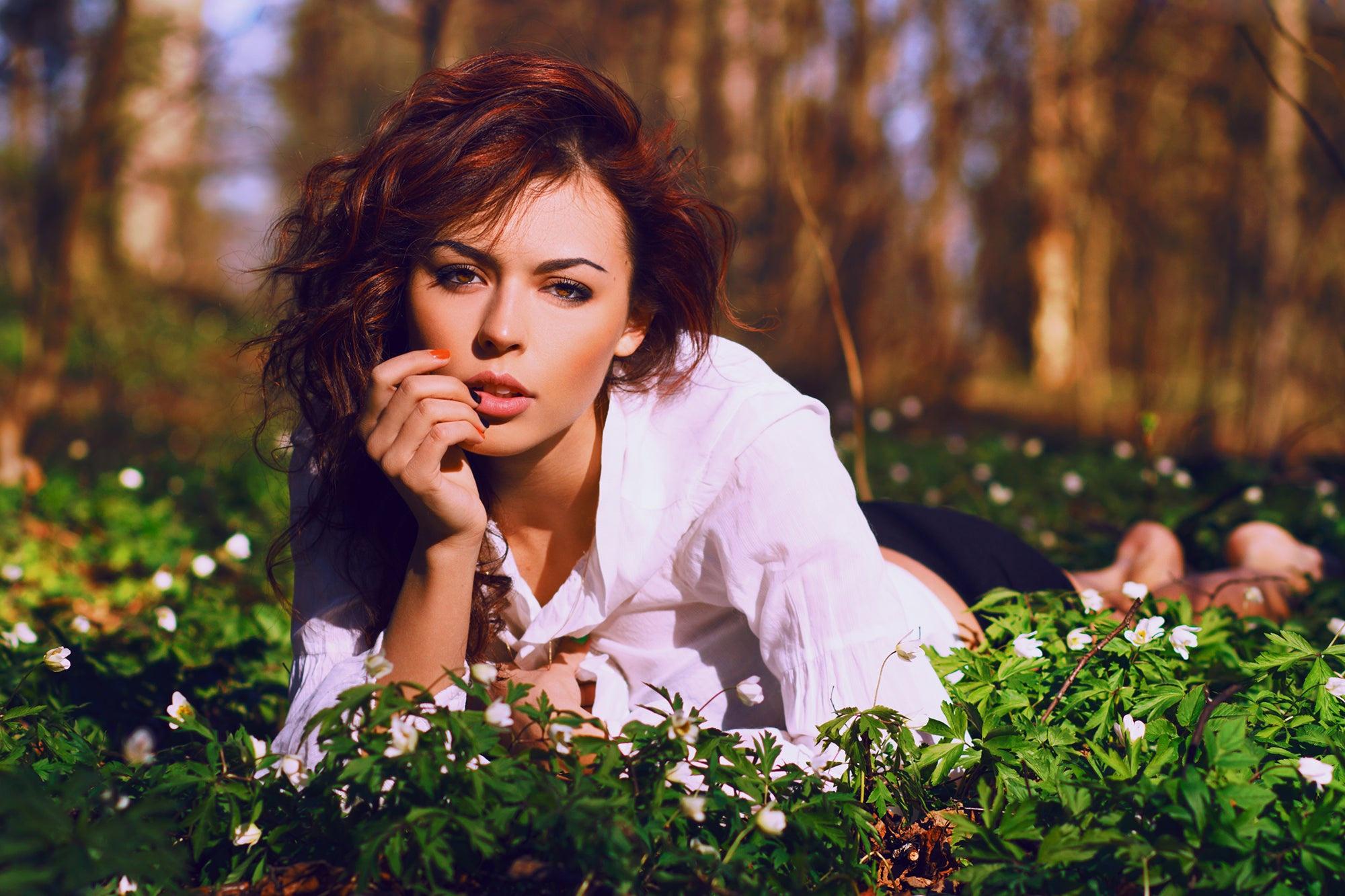 Фотосессия натуральных женщин, Сиськи без силикона на фото - голая натуральная грудь 17 фотография