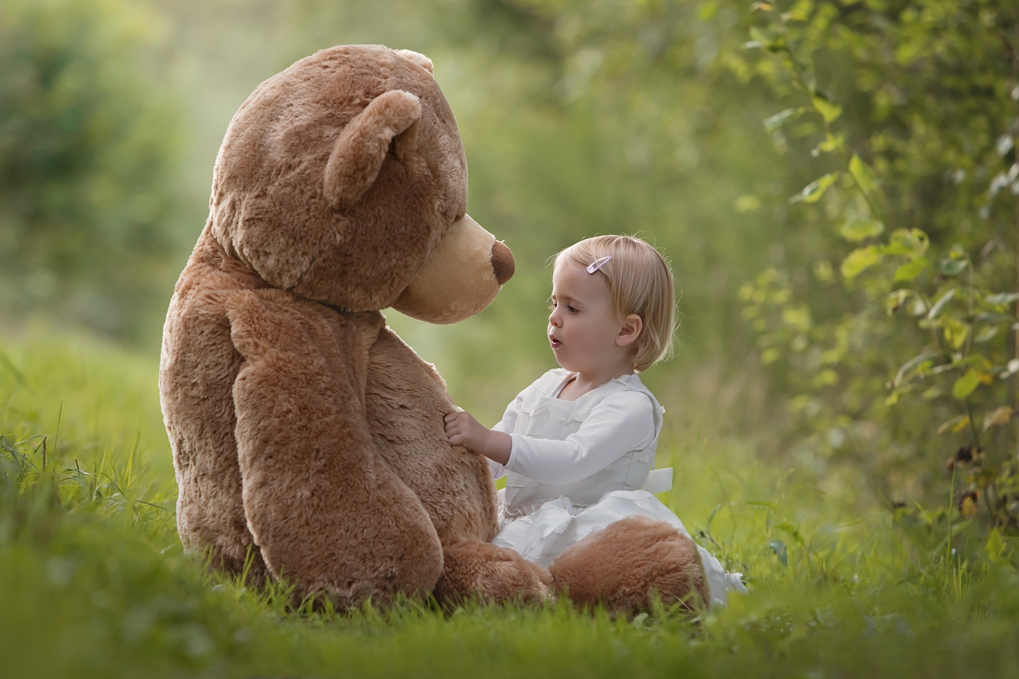 Счастливый медвежонок картинки