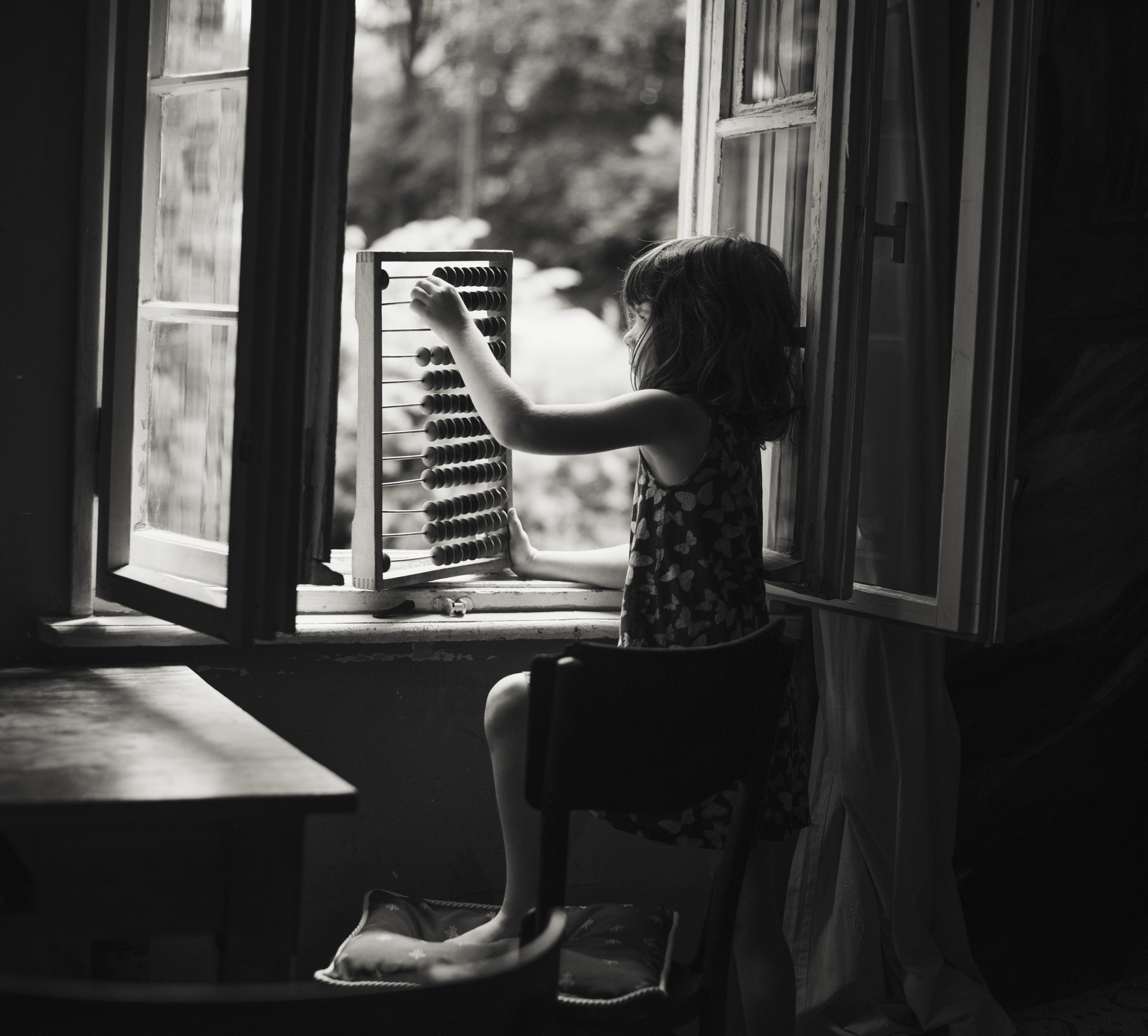 Обои настроение, Девочка, окно. Разное foto 12