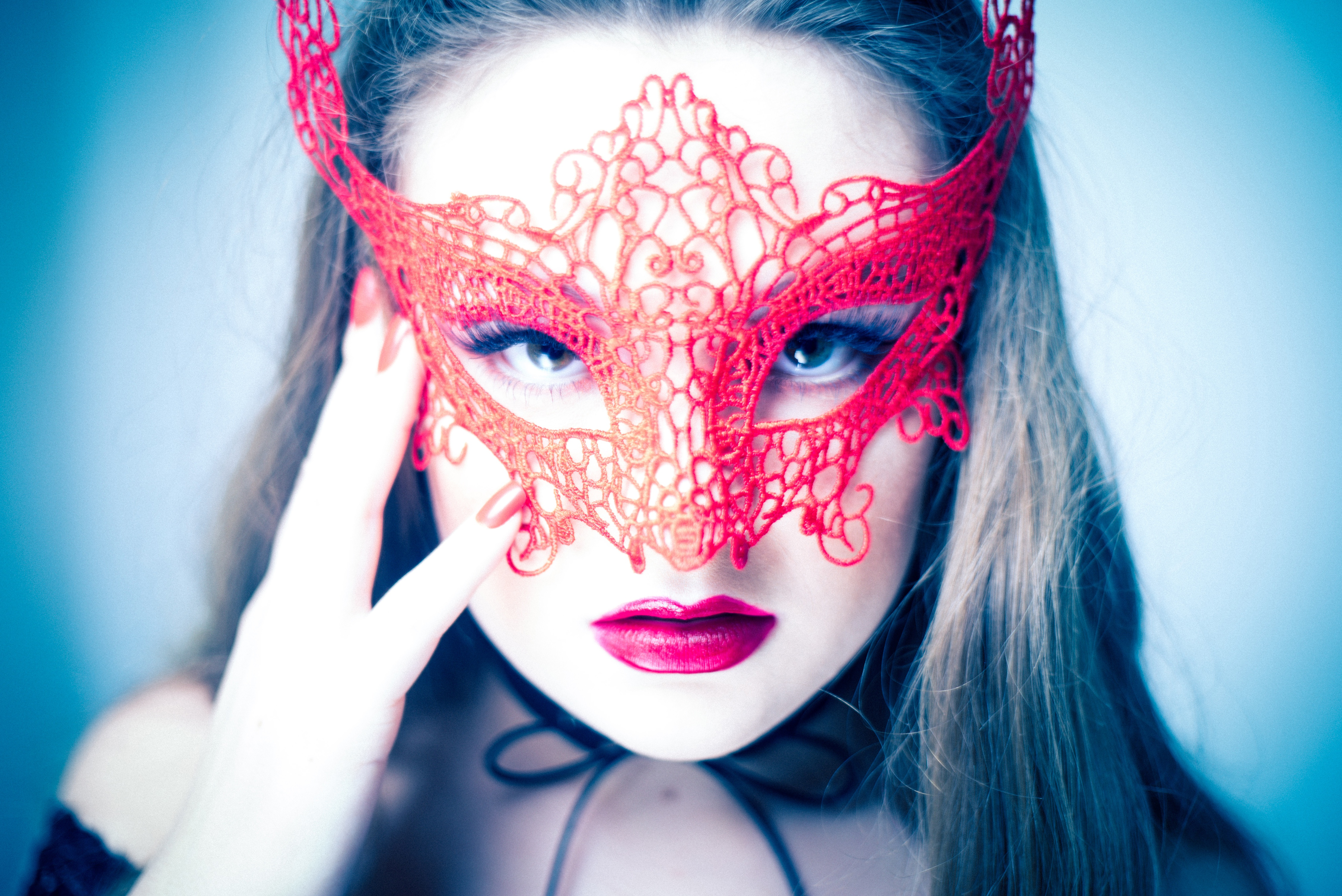 Картинки маски женщины