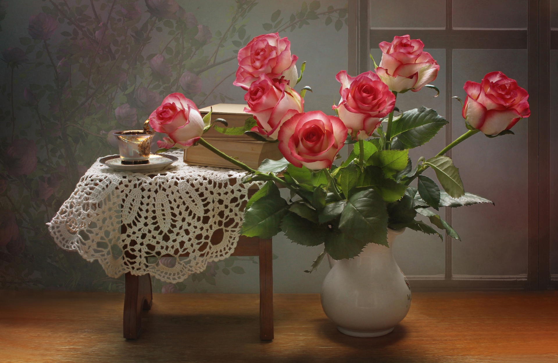 добрый вечер картинки букет роз нас всех говоришь