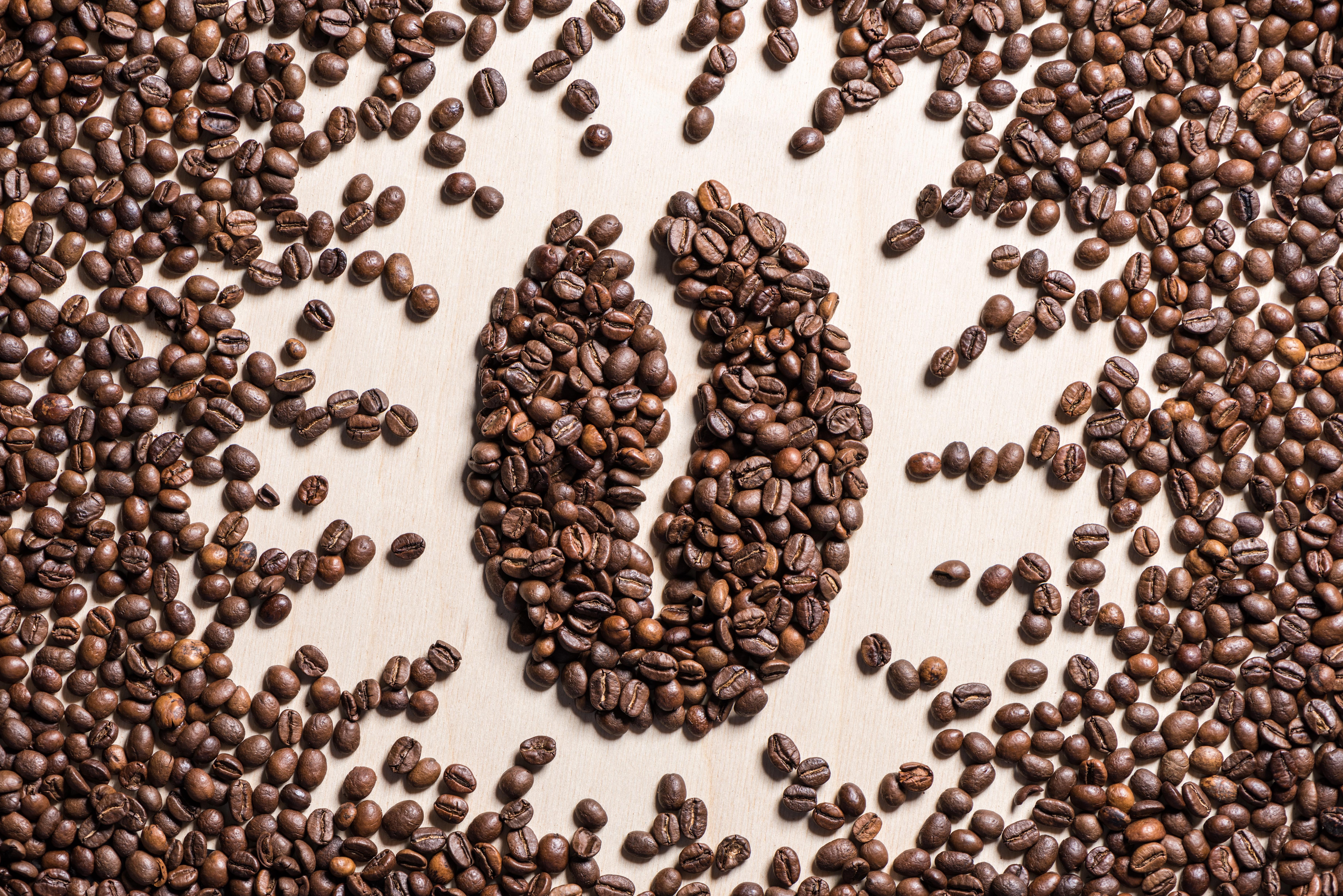 Картинки и фоны с кофейными зернами