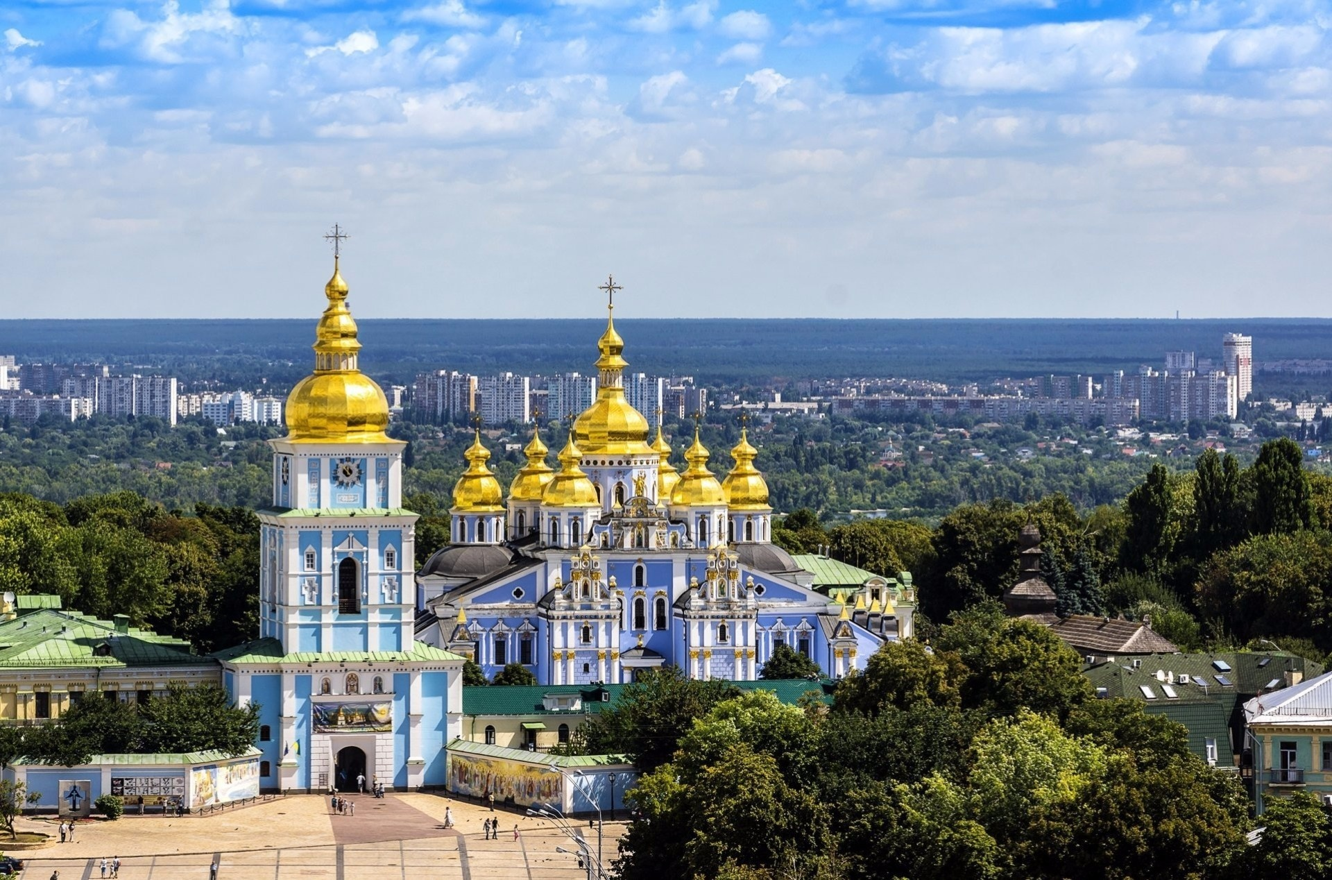 Киев и места в картинках