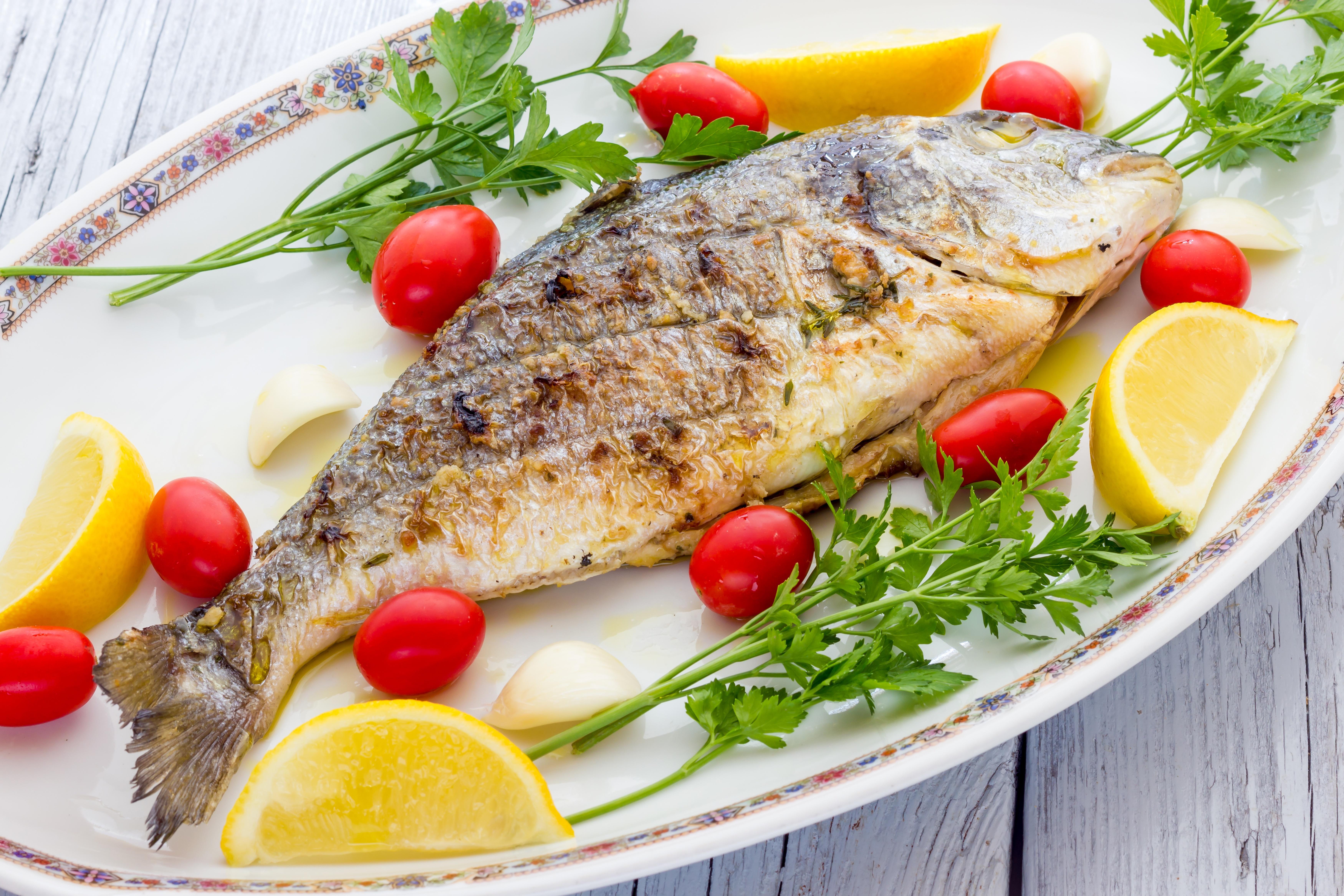 Рыба блюдо фото