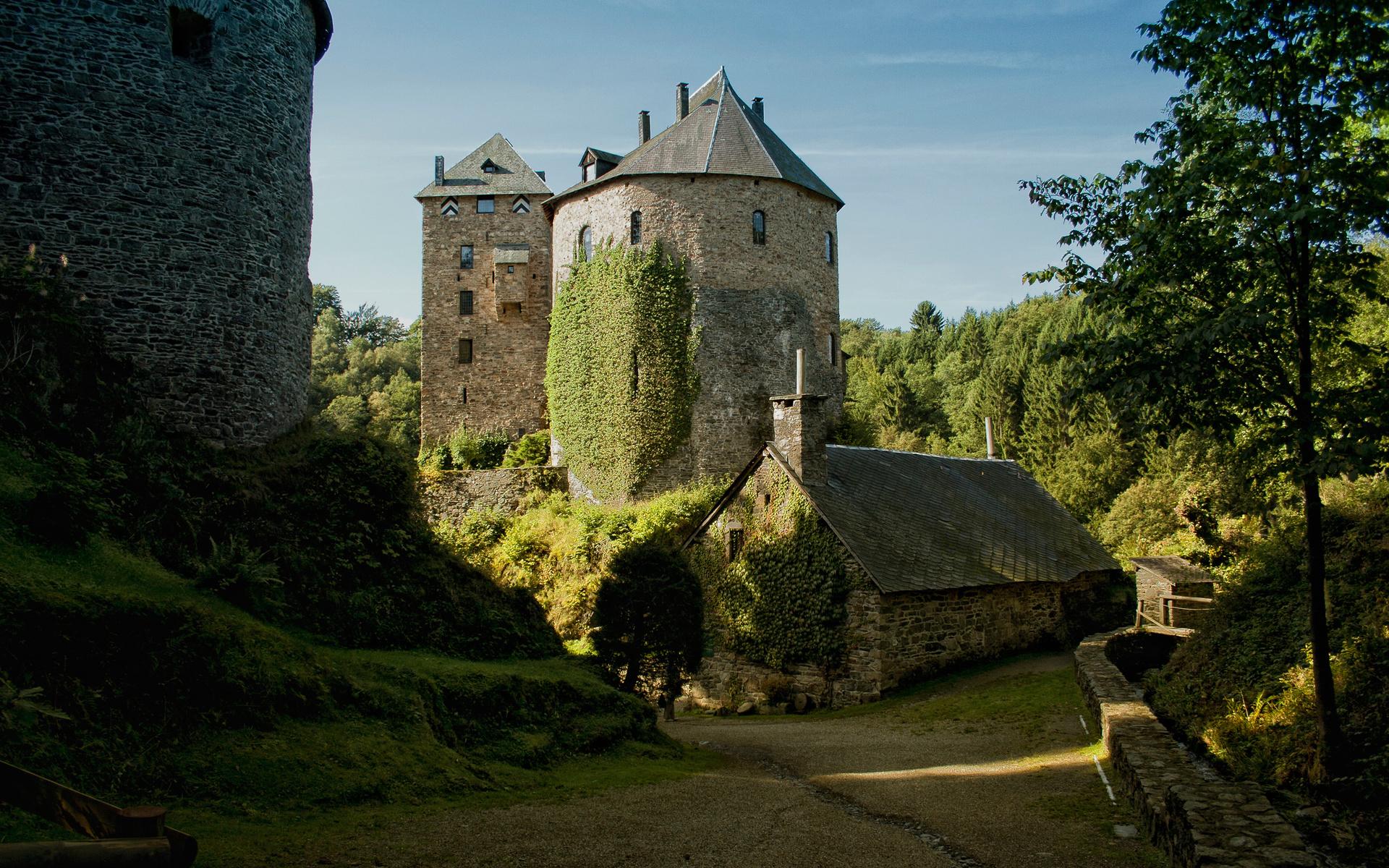 патология обои на рабочий стол средневековые замки искусственного