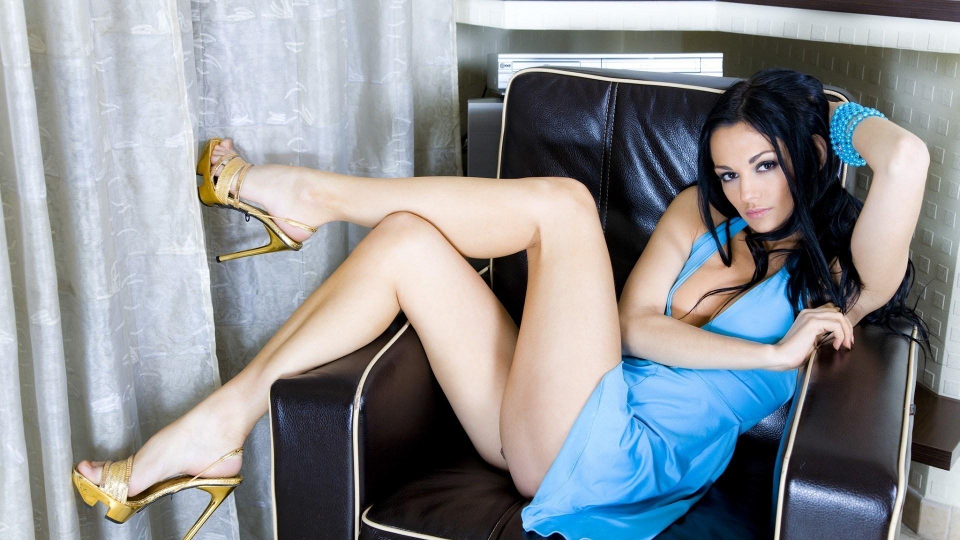 сексуальная девушка в синем-йе1