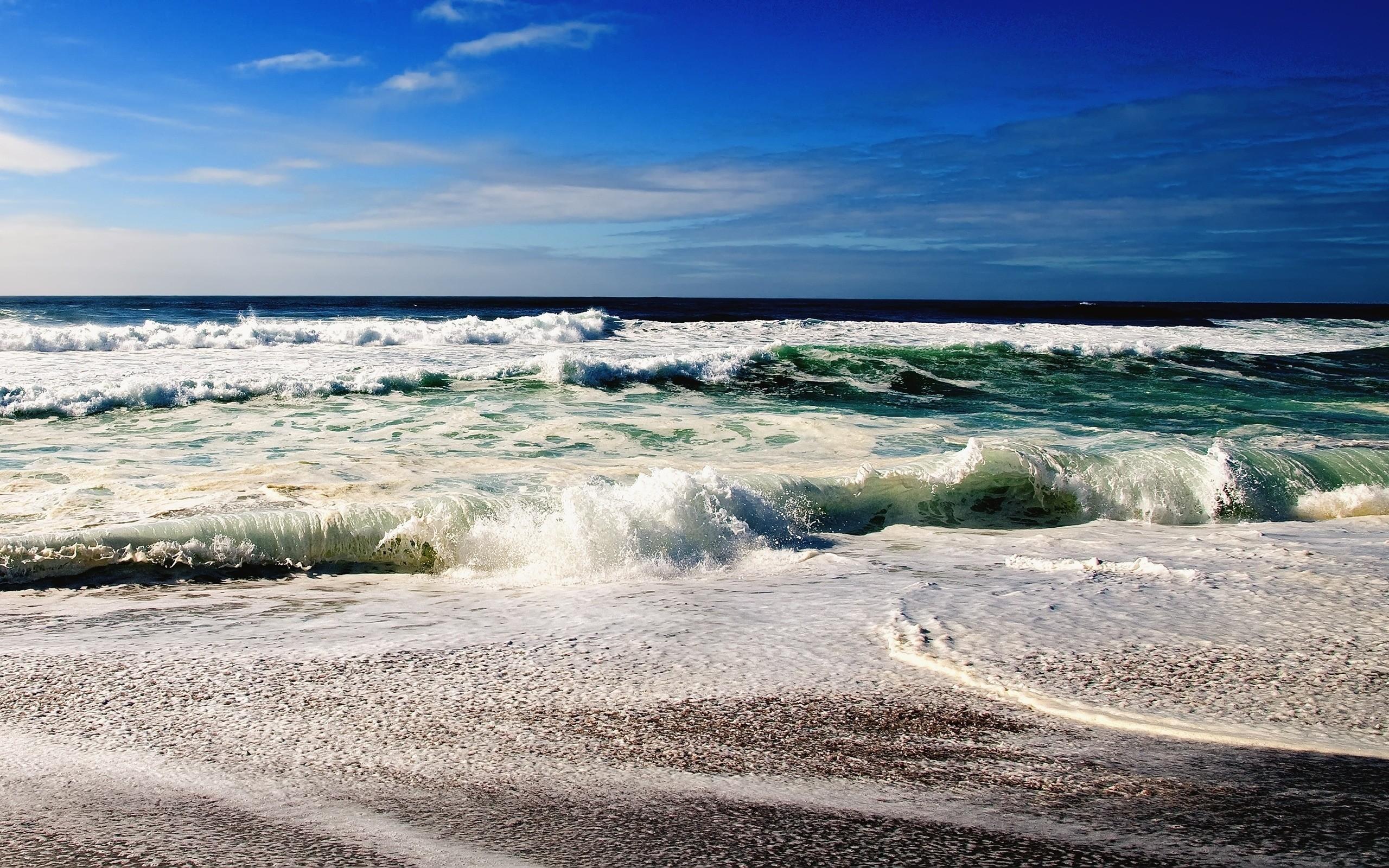 обработка для картинки на рабочий стол берег океана его использование чистом