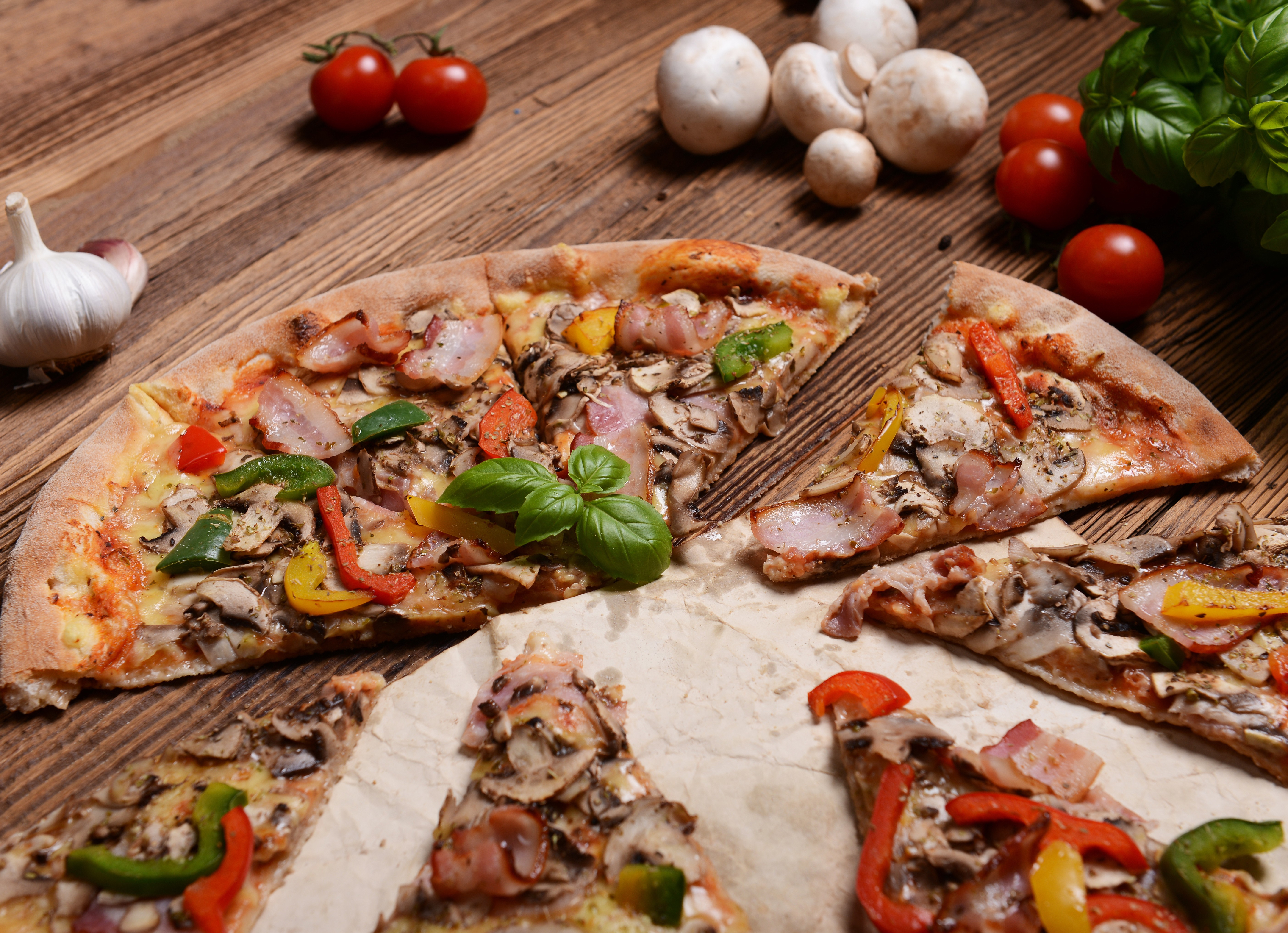 Картинки пиццы на рабочий стол
