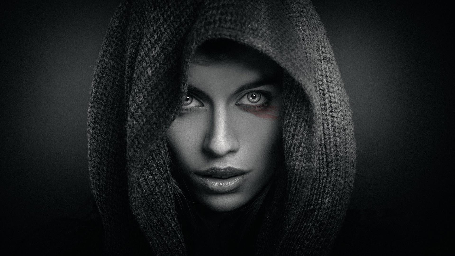лица в черном фото картинки