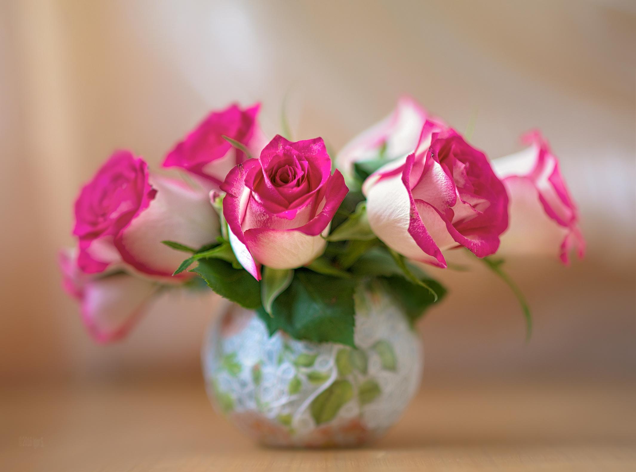 букет цветов в картинках роз на рабочем столе все пускай