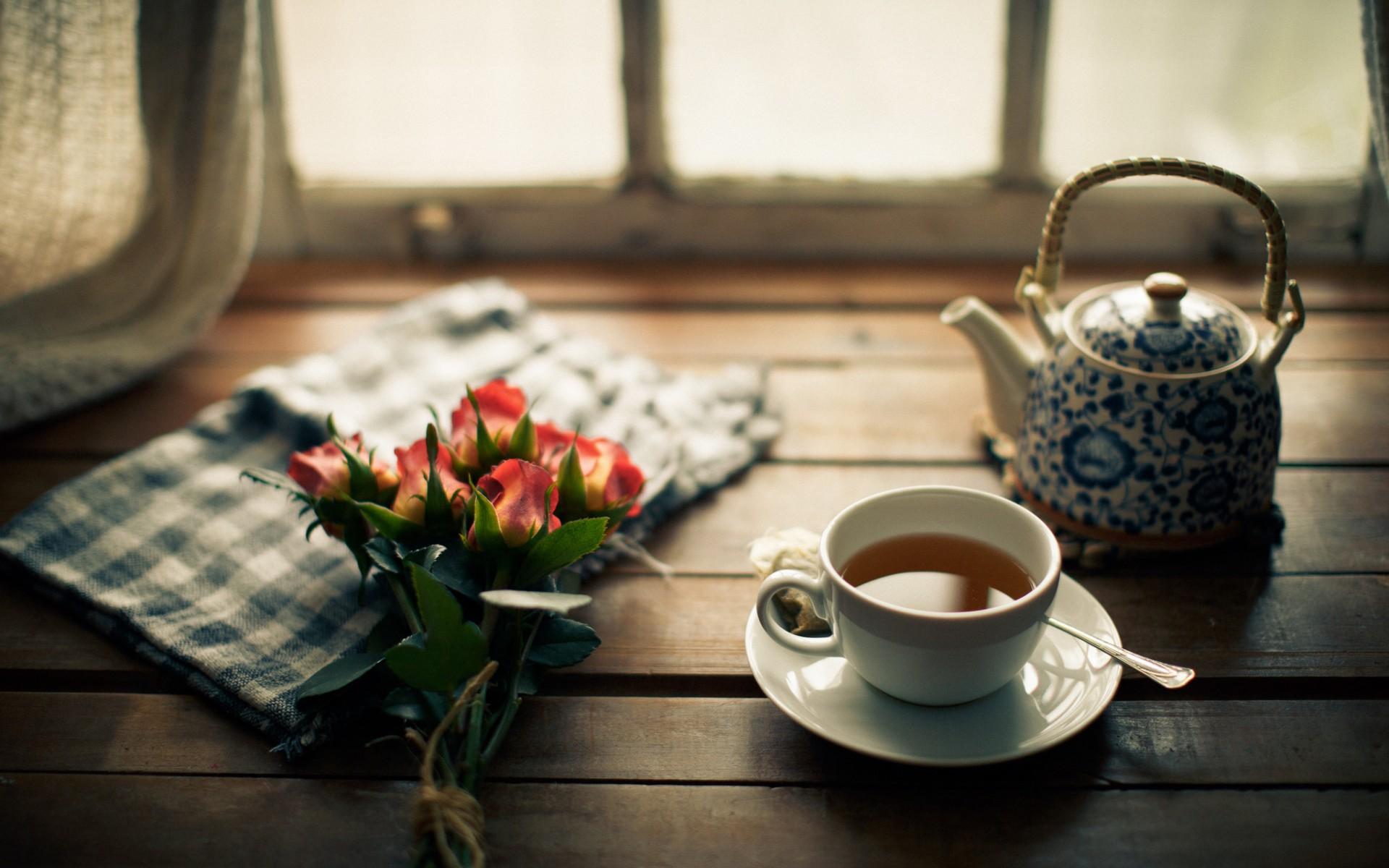Картинки с утренним кофе и чаем
