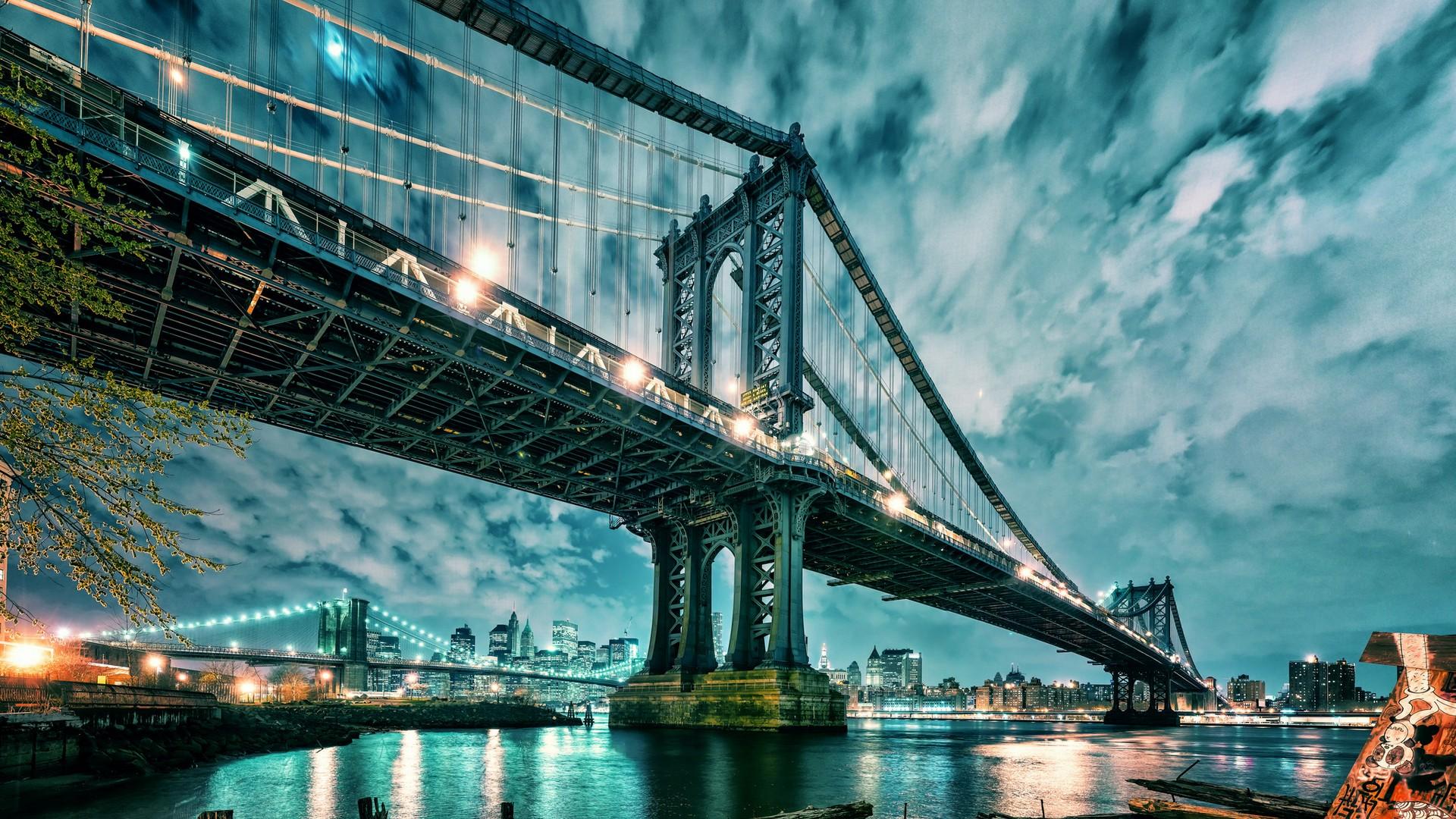 выкладывает завидной картинки на рабочий стол бруклинский мост его, можно понять