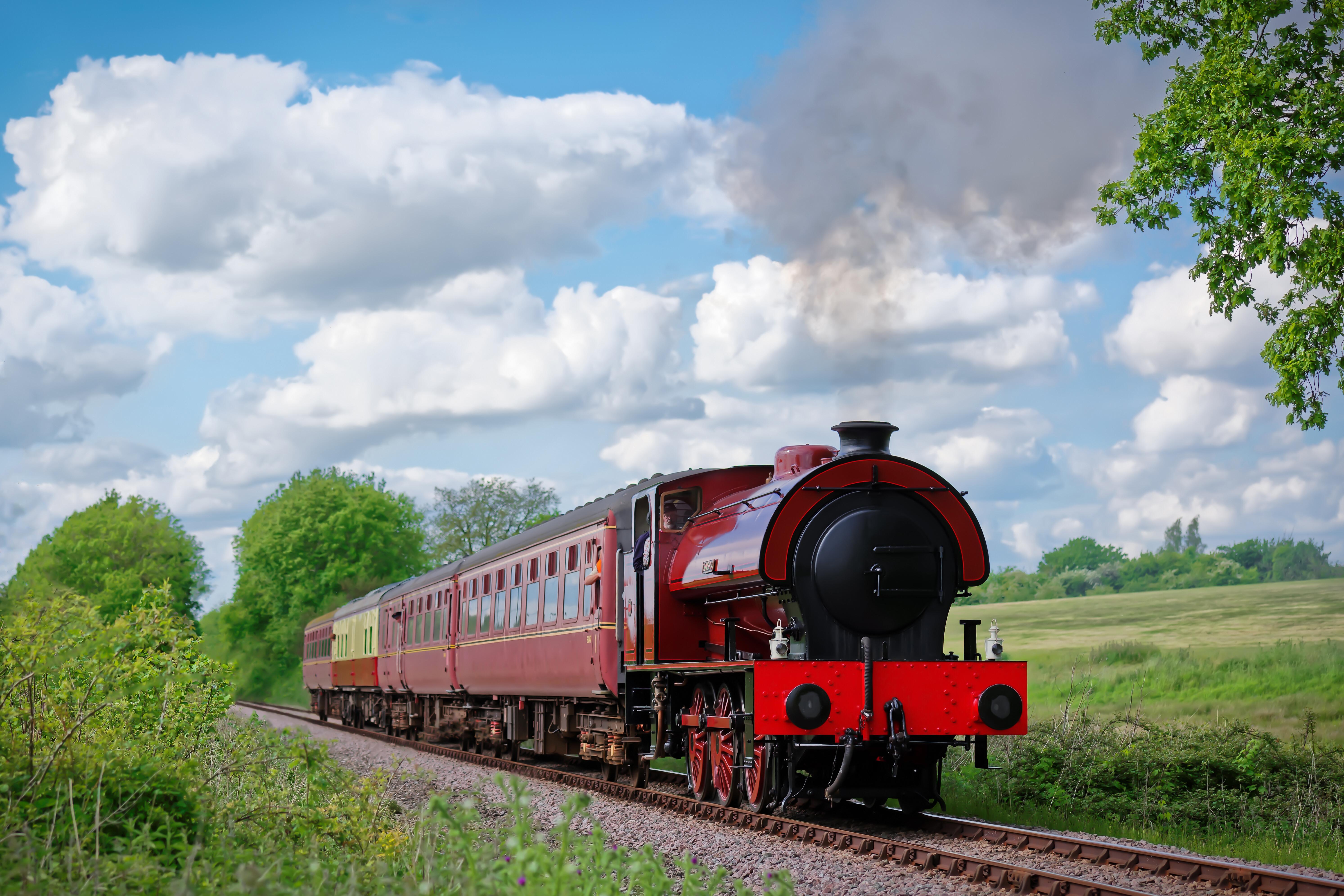 Картинки железнодорожного поезда