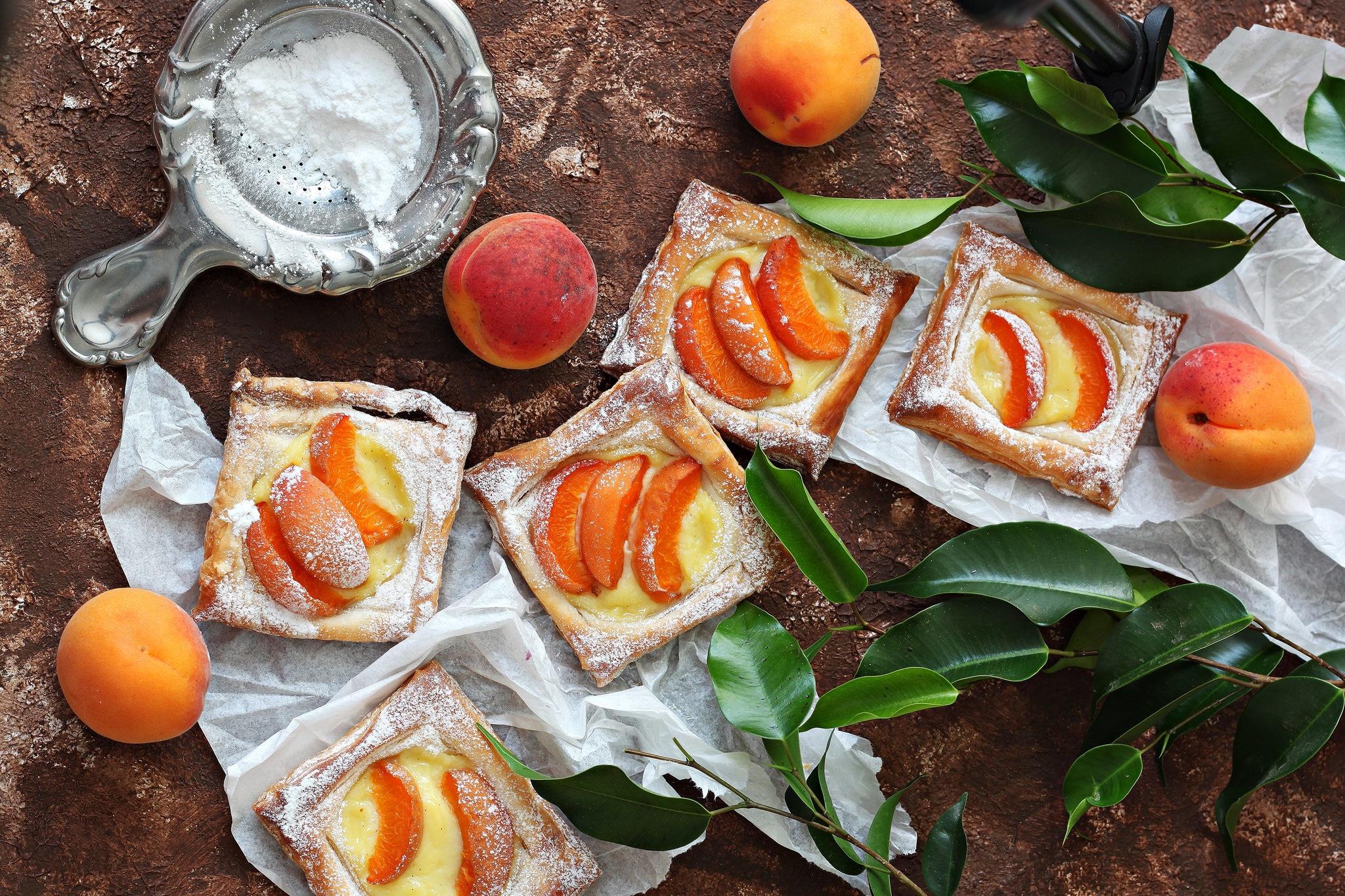 Обои пирог, выпечка, абрикосы. Еда foto 16