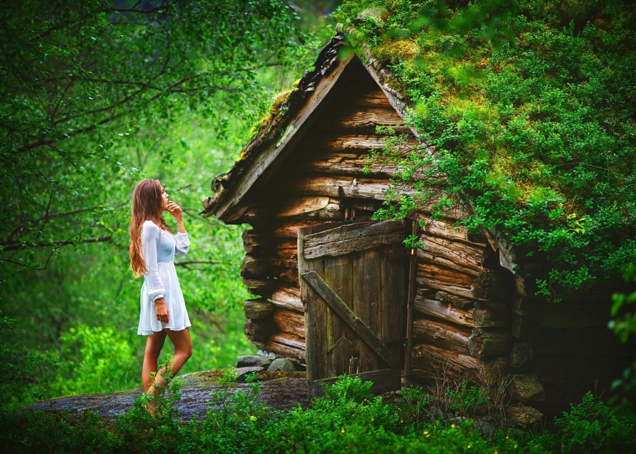 Женщина картинки дома