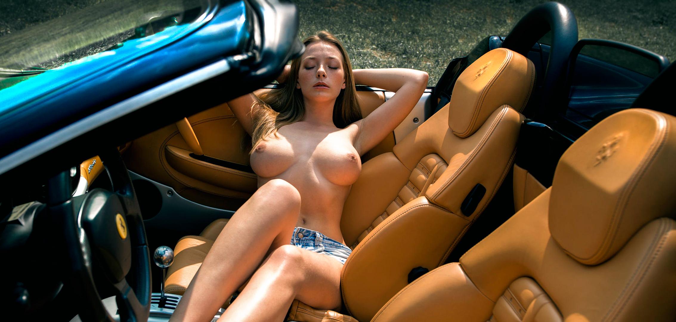 Сообщение, голые фото девушек на машинах нынешний