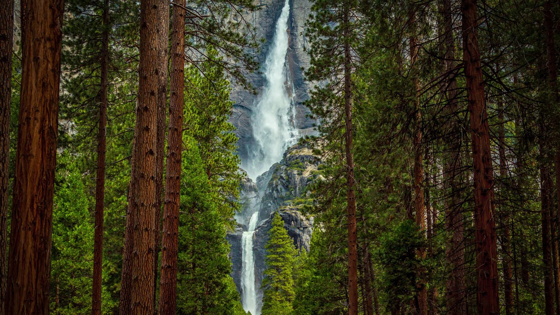 Обои потоки, скалы. Пейзажи foto 8