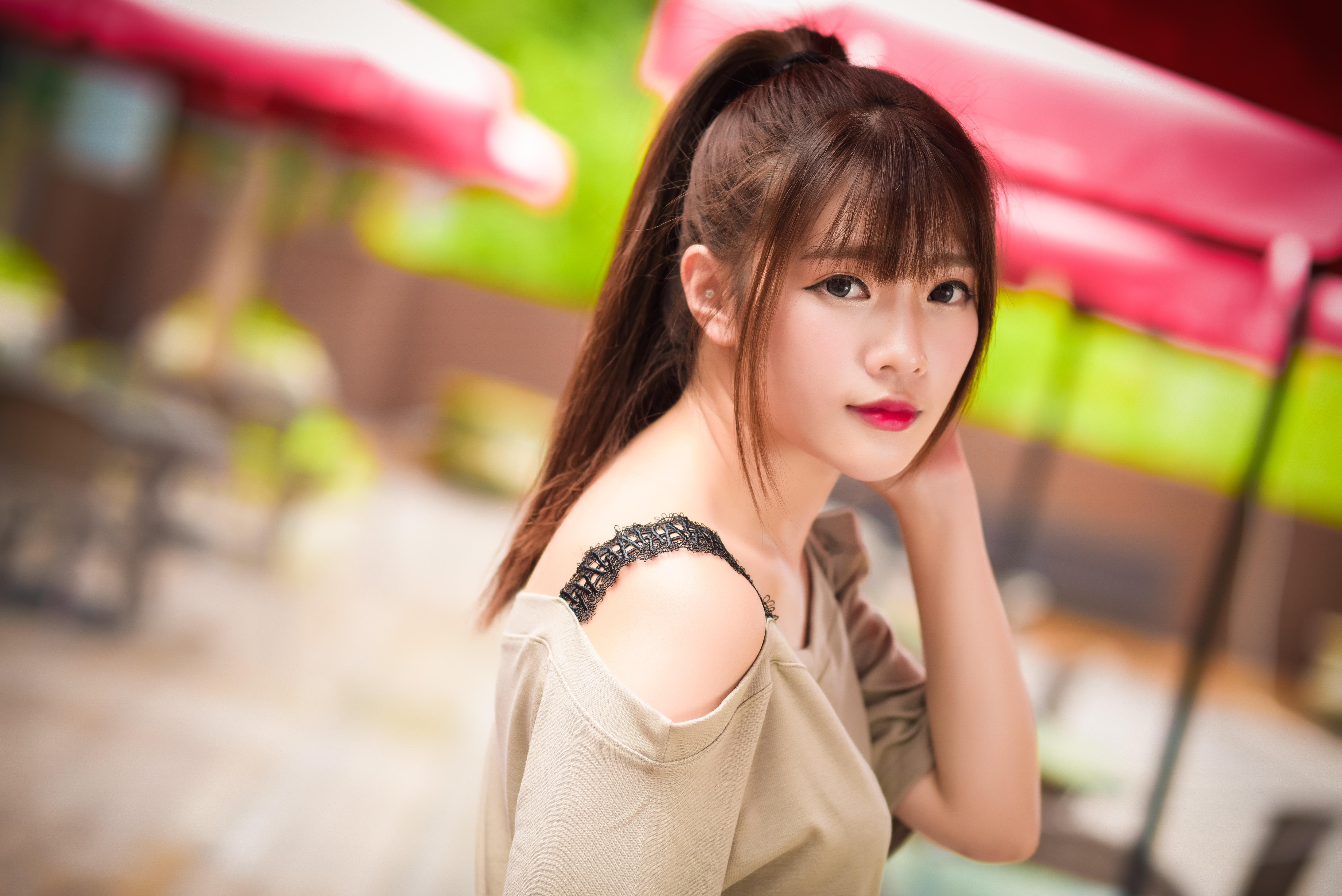 Азиатские прически для девушек
