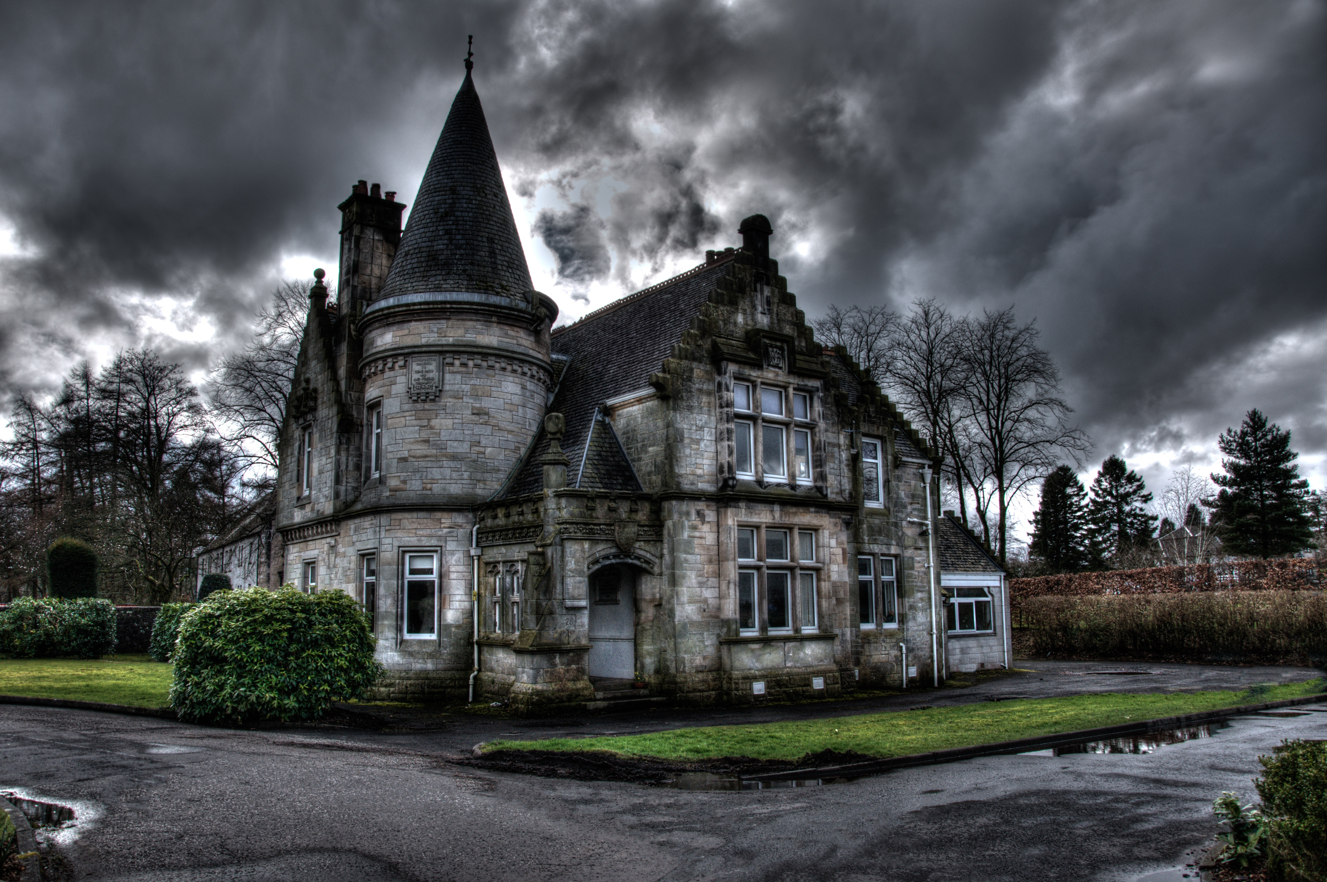 Картинки страшный дом