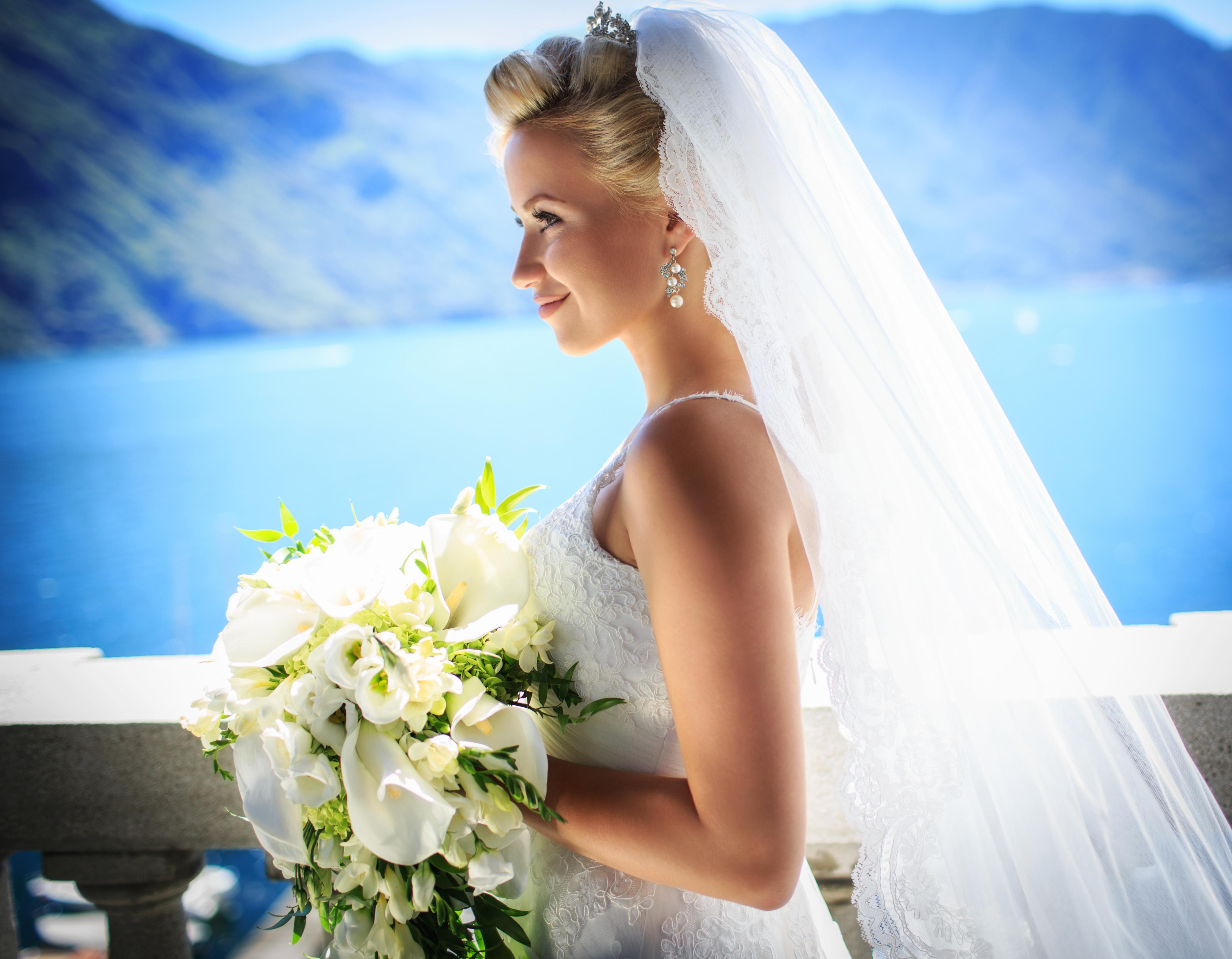 можно фото красивых невест россии много