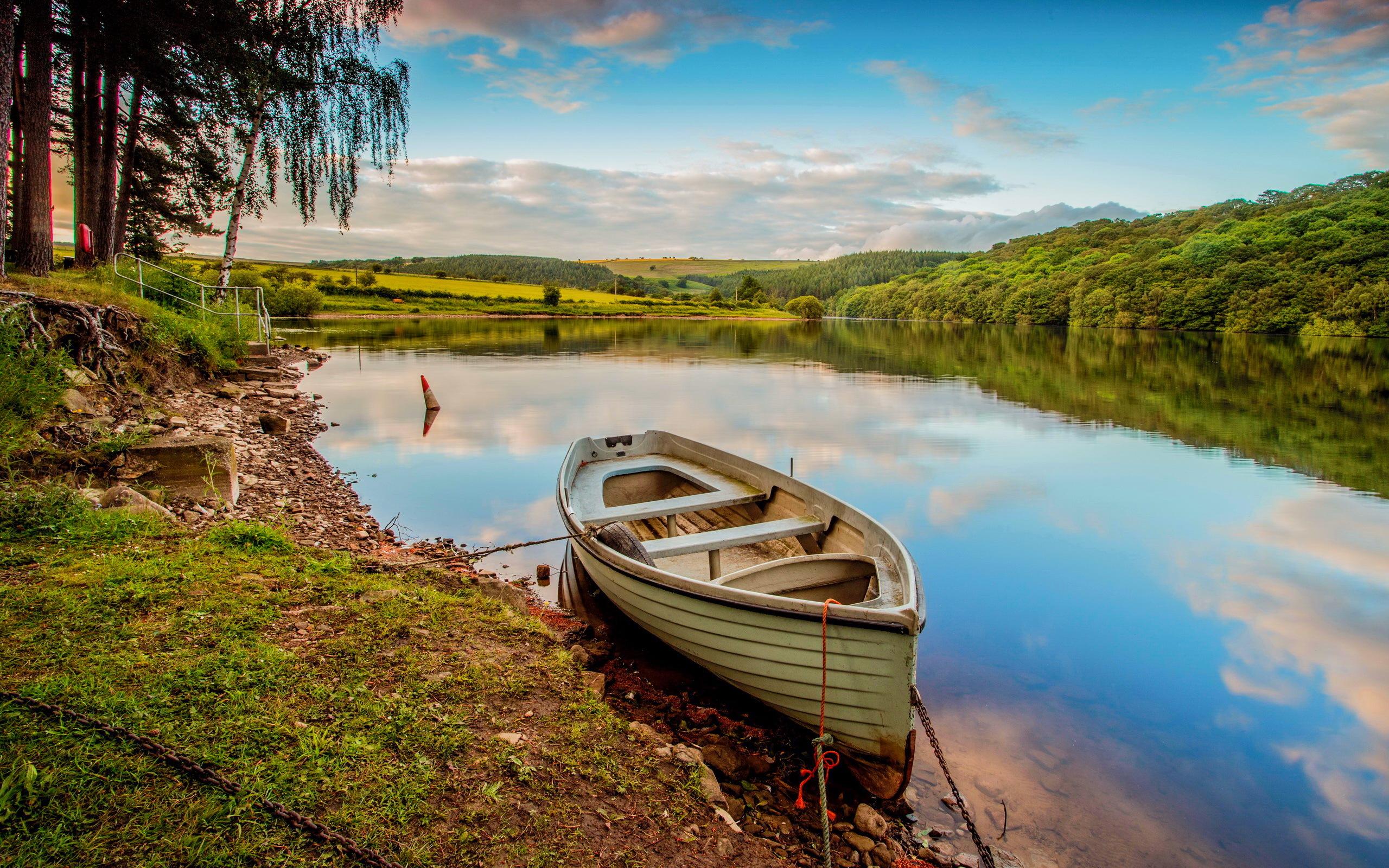 Красивые картинки лодки