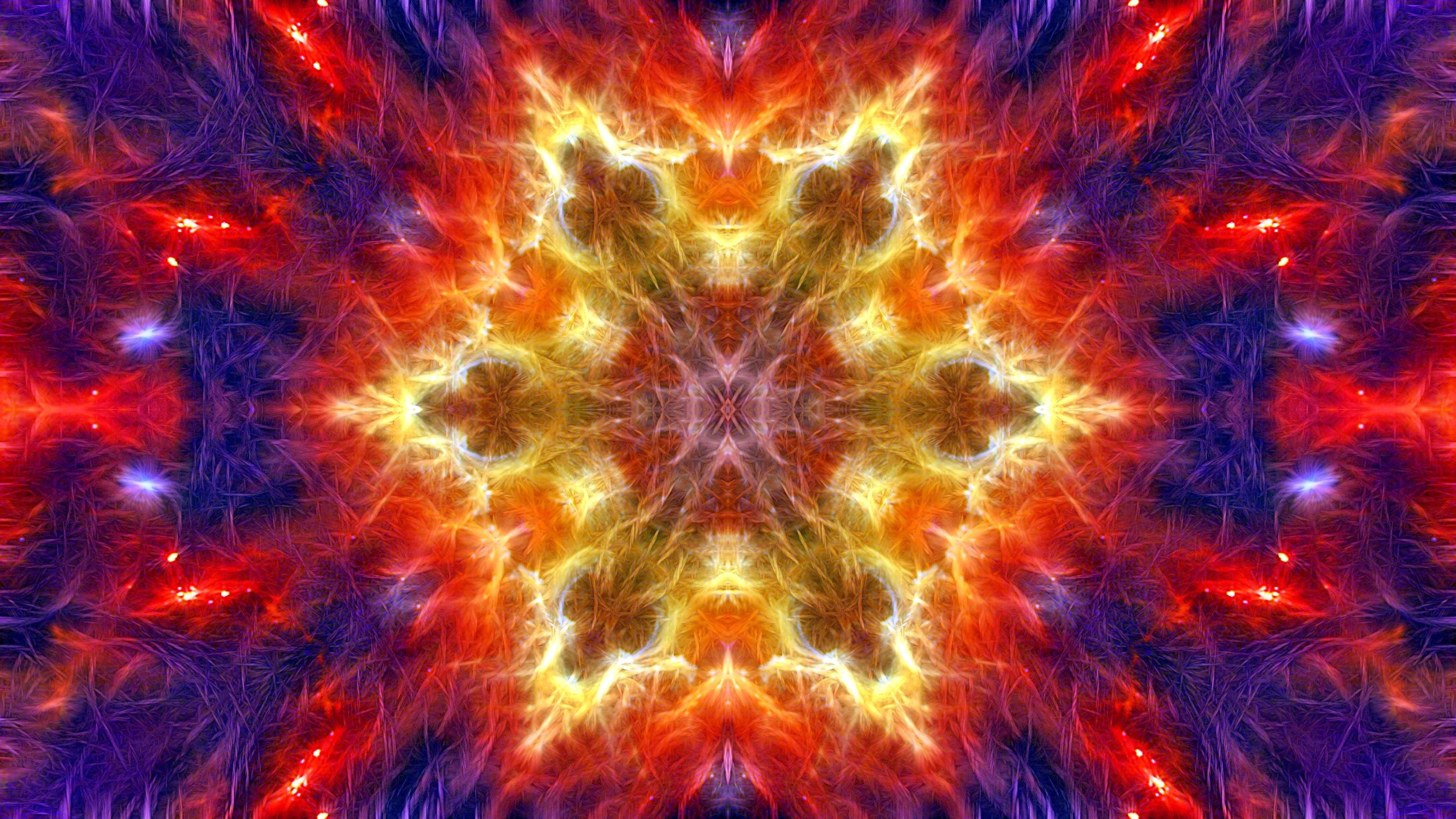 Обои форма, абстракция, Цвет, Fractal. Абстракции foto 12