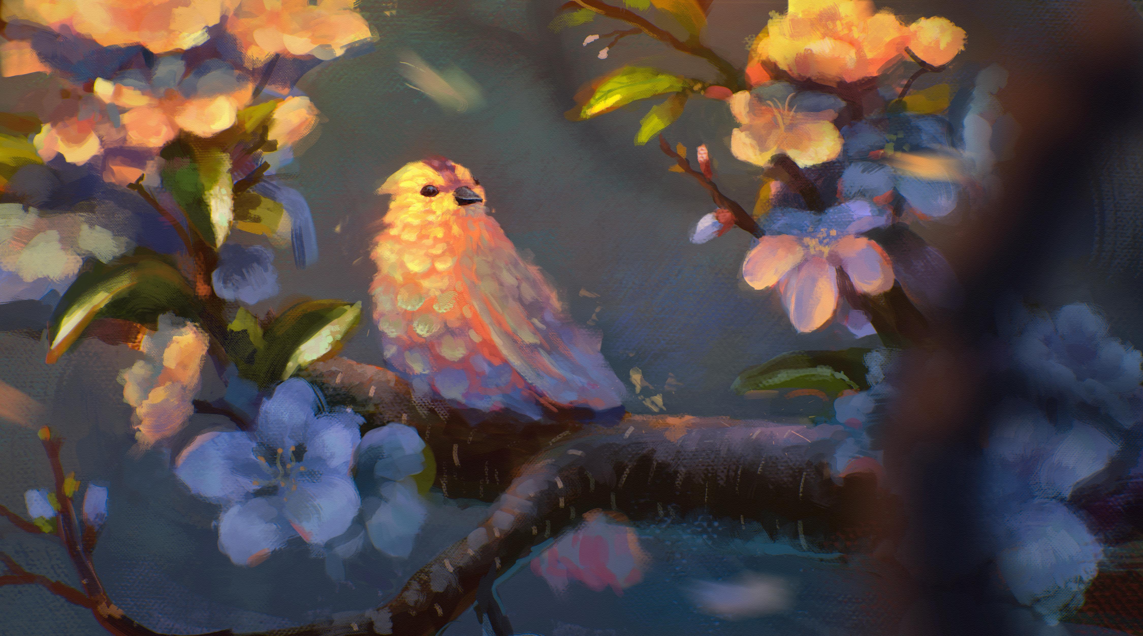 картинки фэнтези птицы готовы