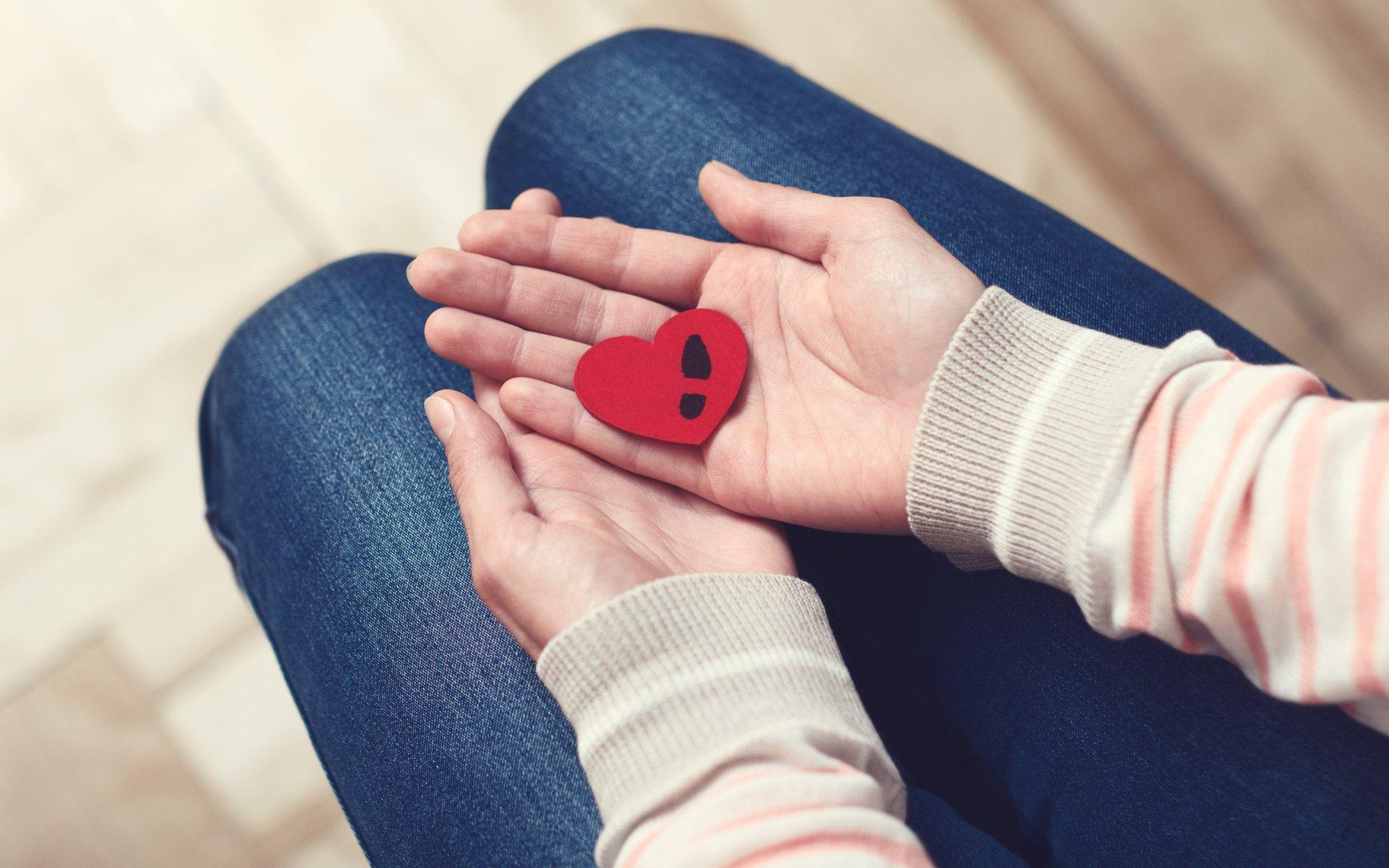 Обои сердце, шов, разбитое сердце, рисунок. Разное foto 16