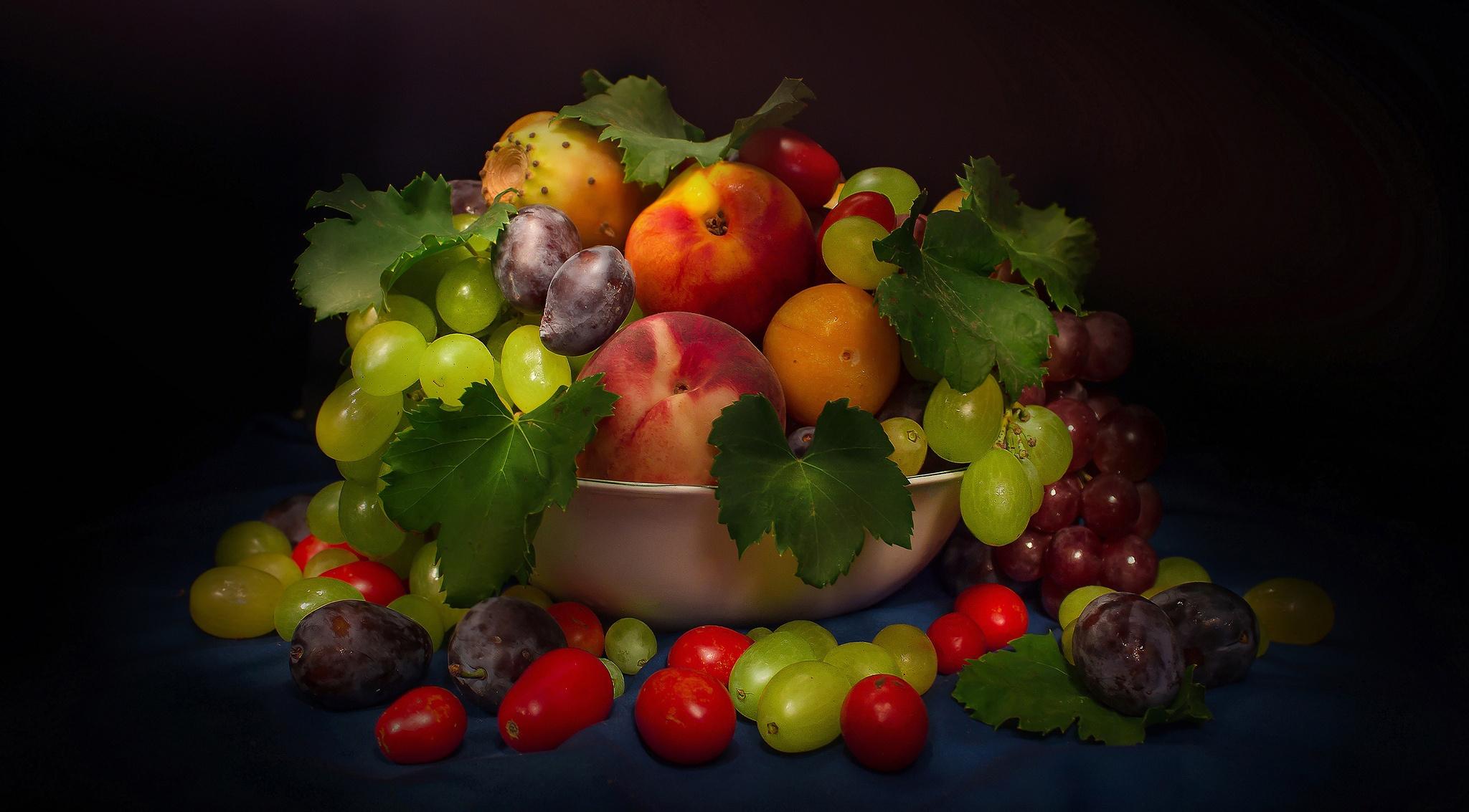 красивые картинки персики и виноград мозг отвечает