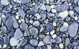 камни, галька, текстура, фон, серая