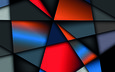 background, vector, geometry, 3d, shapes, colorful