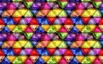 texture, background, pattern, colorful, mosaic, glass, triangles, stained glass