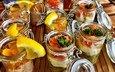 фрукты, сладкое, десерт, тирамису
