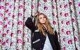 девушка, шторы, модель, ny, фотосессия, кассеты, 2015 год, кара делевинь, gевочка, ка́ра делеви́нь
