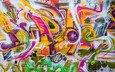 texture, color, wall, graffiti, street art
