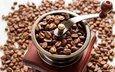 зерна, кофе, кофейные зерна, кофемолка