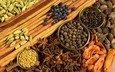 гвоздика, специи, приправы, анис, кардамон, мускатный орех, анисамстаун, пажитник