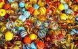 шары, разноцветные, шарики, марблс, марблз