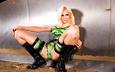 девушка, блондинка, модель, ноги, латекс, сапоги, susan wayland