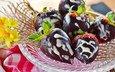 strawberry, berries, chocolate, dessert, chocolate-covered strawberries