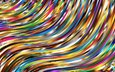 abstraction, line, wave, colorful, color, form