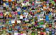 фото, мозаика, фотография, коллаж, изобразительное искусство, фотоальбом