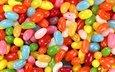 разноцветные, конфеты, камушки, драже, морские камушки