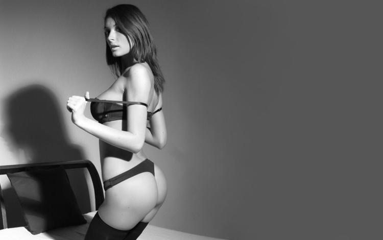 фото, чулки, черно белое, kocsis, orsi, photo, stockings, black and white