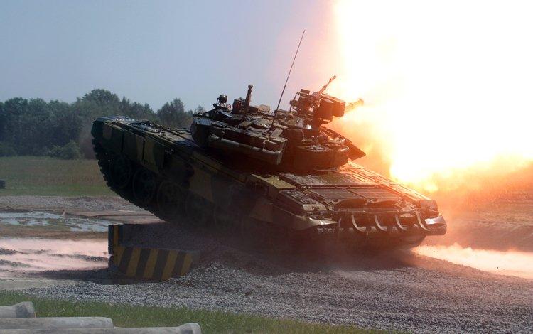 огонь, т 90, выстрел, танк, fire, t 90, shot, tank