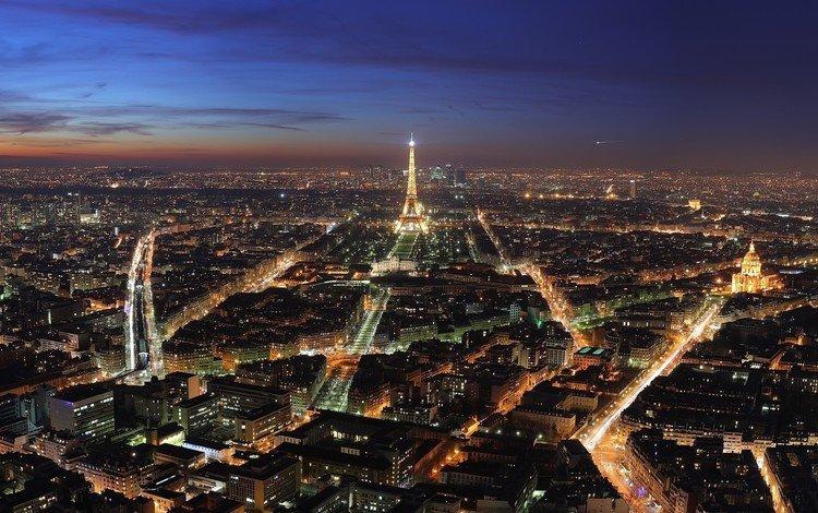 города, башня, париж, city, tower, paris