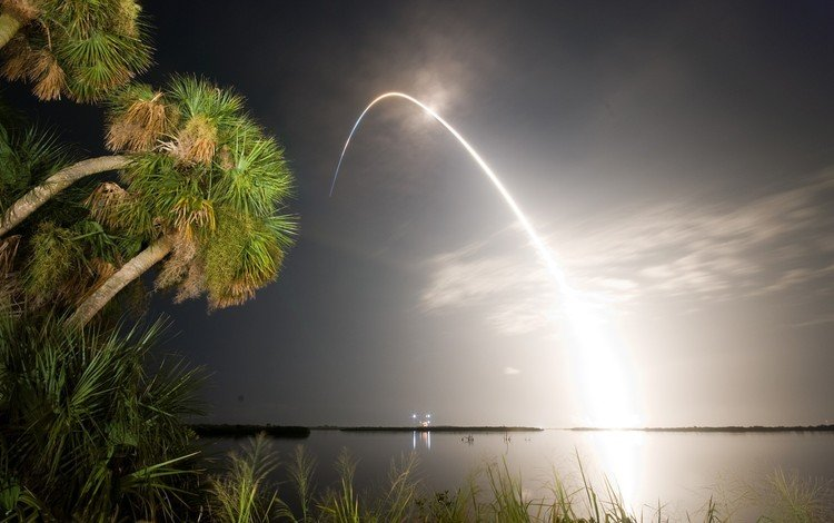 озеро, шаттл, дискавери, запуск, lake, shuttle, discovery, start