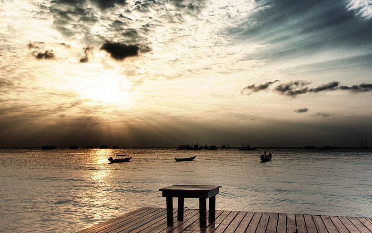 небо, пристань, солнце, природа, волны, лучи, пейзаж, лодки, пирс, the sky, marina, the sun, nature, wave, rays, landscape, boats, pierce